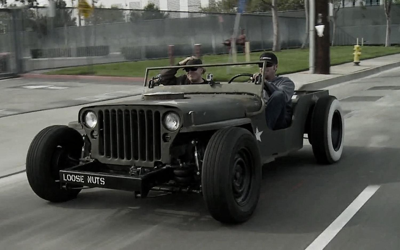 Ww2 Jeep Rat Rod Rocks N Rolls 4x4